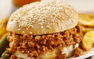 Kim's Sloppy Joe Burger